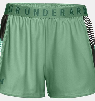 Under Armour Women's UA Play Up Print Inset Shorts