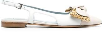 Roberto Festa Celine pointed-toe ballerinas