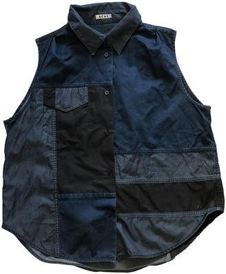 Acne Studios Navy Denim - Jeans Tops