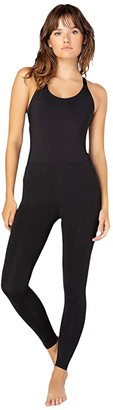 Beyond Yoga Play The Angles Bodysuit (Black) Women's Jumpsuit & Rompers One Piece
