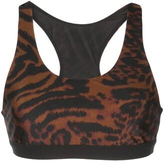 Koral Tax cheetah print sports bra