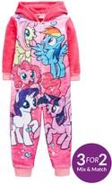 My Little Pony Girls Fleece Sleepsuit