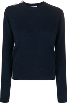Ganni Decorative Button Cashmere Jumper