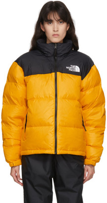 The North Face Black and Yellow 1996 Retro Nuptse Jacket