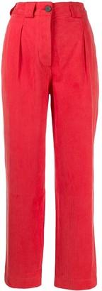 Mara Hoffman cropped chino trousers