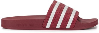 adidas Adilette striped sliders