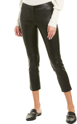 Theory Classic Leather Skinny Pant