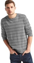 Gap Waffle knit stripe long sleeve tee