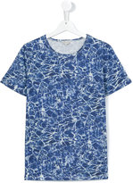 Paul Smith patterned T-shirt - kids - Cotton - 14 yrs