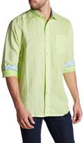 Tommy Bahama Boardwalk Breezer Original Fit Stripe Sport Shirt