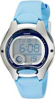 Casio Women's LW200-2BV Digital Resin Strap Watch