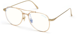 Tom Ford Aviator Acetate & Metal Optical Frames