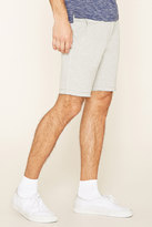 Forever 21 FOREVER 21+ French Terry Drawstring Shorts