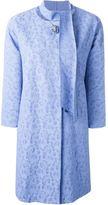 Ermanno Scervino jacquard lace coat - women - Polyamide/Polyester/Spandex/Elastane/Viscose - 40