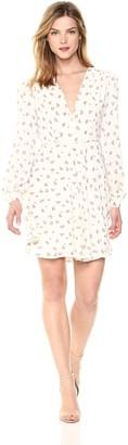 Glamorous Women's V-Neck Longsleeve Dress