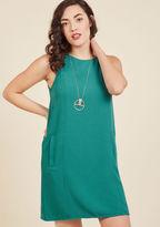 BB Dakota Breezes, Please Sheath Dress in Teal in XS
