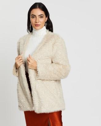 Unreal Fur Ice Cream Jacket