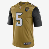 Nike NFL Jacksonville Jaguars Color Rush Limited Jersey (Blake Bortles) Men's Football Jersey