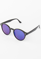 Missy Empire Jinx Blue Tint Cat Eye Sunglasses