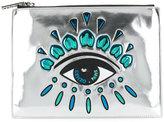 Kenzo A4 Eye clutch - women - Cotton/Nylon/Polyester - One Size