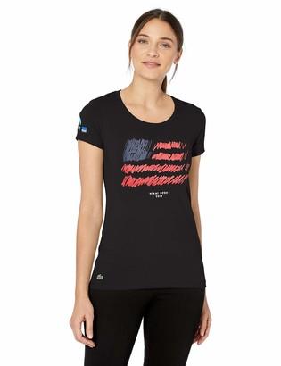 Lacoste Women's Sport Miami Open Edition Americana T-Shirt