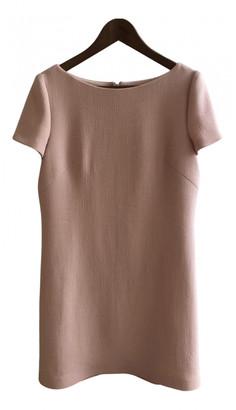 Prada Pink Wool Dresses