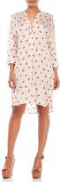 Zadig & Voltaire Raita Cherry Print Woven Dress