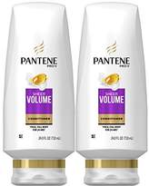 Pantene Sheer Volume Conditioner, 24 Fl Oz (Pack of 2) (Packaging May Vary)