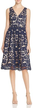Eliza J Women's Lace Fit & Flare