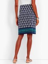Talbots Paisley Foulard Skirt