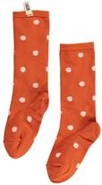 Bobo Choses White Polka Dot Socks