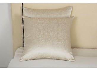 Frette Lux Glowing Weave Silk-Cotton Decorative Cushion
