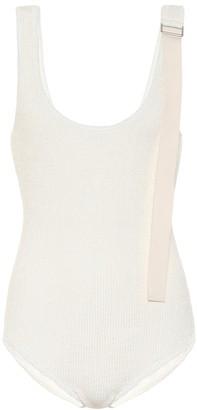 Jil Sander Linen-blend bodysuit