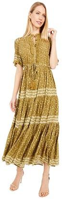 Free People Rare Feeling Maxi (Kiwi Combo) Women's Clothing