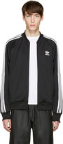 adidas Black SST Relax Track Jacket