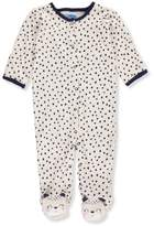 Bon Bebe Baby Girls' Footed Coverall