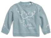 Burberry Toddler Girl's Graphic Cotton Pullover