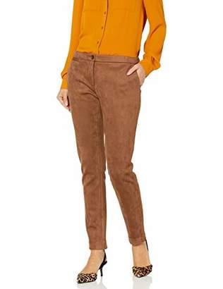 Tommy Hilfiger Women's Suede Slim Leg Ankle Pant