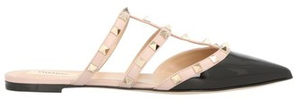 Valentino Rockstud mules with straps