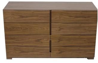 Failand Modern 8 Drawer Double Dresser Brayden Studio Color: Walnut