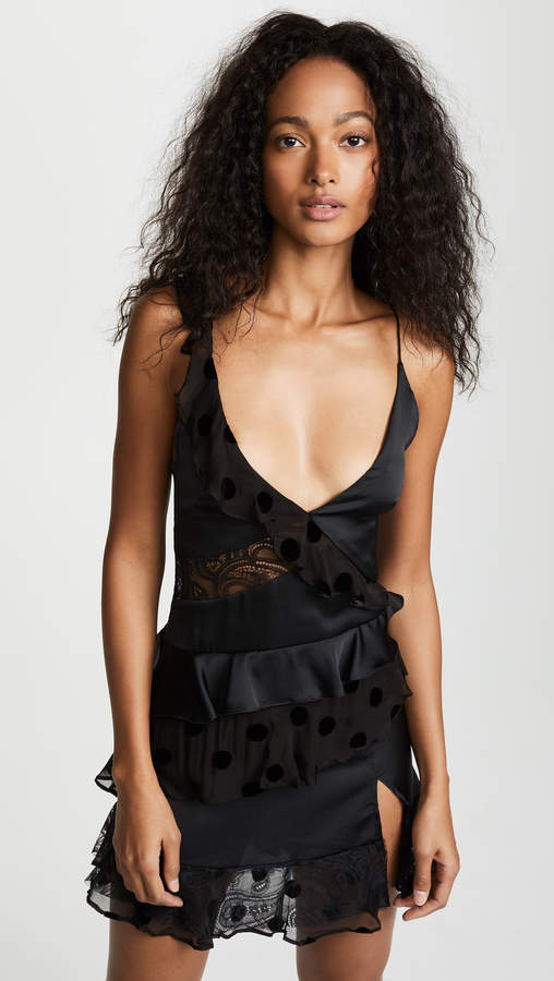 For Love & Lemons Rosalyn Panelled Tank Dress