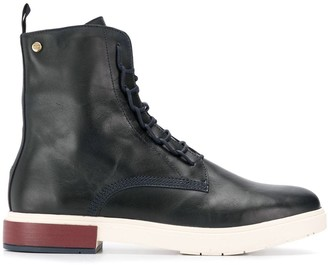 Tommy Hilfiger leather ankle boots