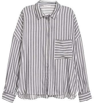 H&M Wide shirt