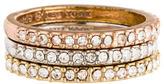 Kate Spade Crystal Stackable Rings