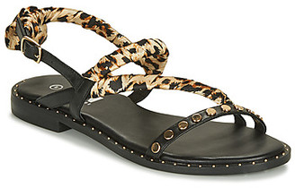 Elue par nous GHANA women's Sandals in Black