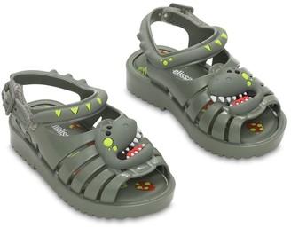 Mini Melissa Dino Scented Rubber Sandals