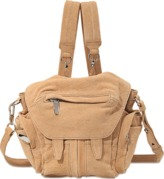 Alexander Wang Mini Marti backpack in tumbled nubuck and nickel
