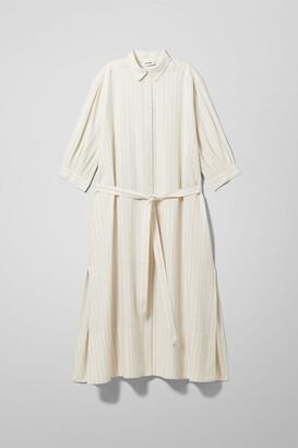 Weekday Genre Dress - White