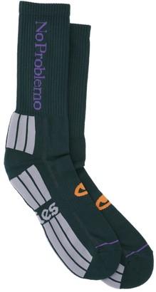 Aries No Problemo Crew Socks