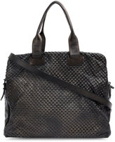 Numero 10 textured shoulder bag - women - Leather - One Size